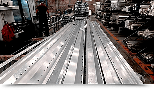 Aluminio-Maquinados